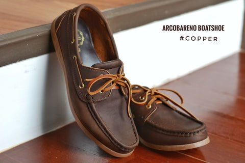 825 Boat Shoe - Copper