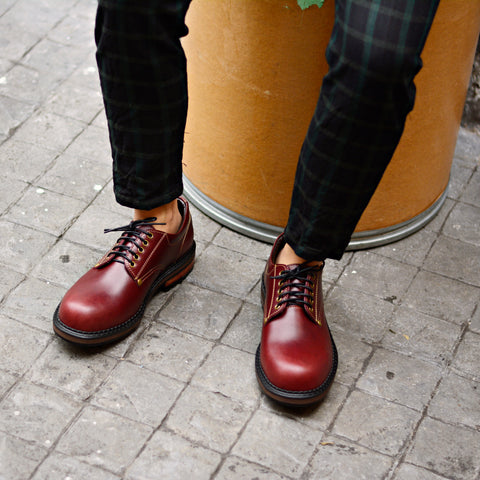 500 Workwear Cherry Red