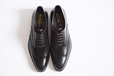 502 Oxford Shoe Wingtip Black