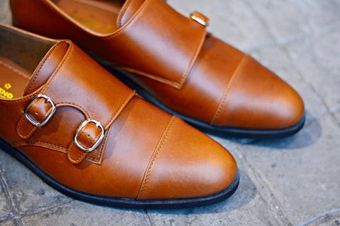 504 Double Monk Strap Visky