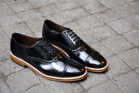 507-1 Brogue Shoe PianoBlack