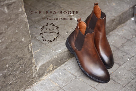 Chelsea Boots Painted Leather