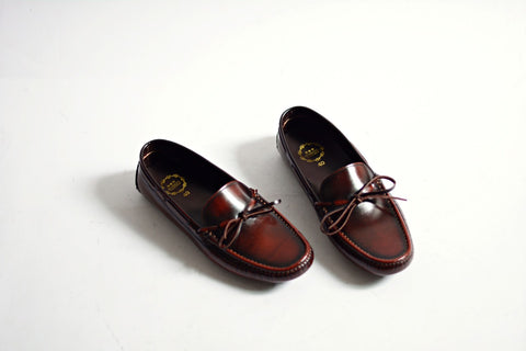 801 Driving Loafer Burgundy
