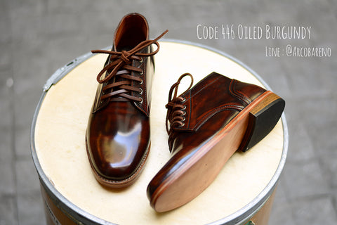 446 Derby Hi-Cut Burgundy