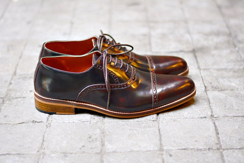 507-1 Brogue Shoe Burgundy