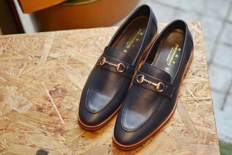 Horsebit Loafer Blue