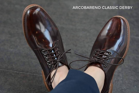 441 Derby Shoe - Burgundy