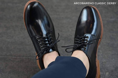 441 Derby Shoe - Black