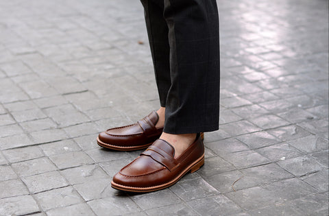 509 Penny Loafer Matt Caramel - Wooden Sole