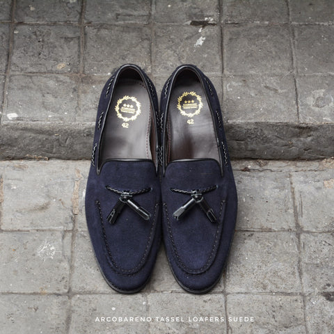 503 Tassel Loafer Suede Lamb DeepBlue