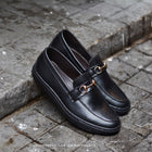 702 Arcobareno Horsebit Slip-On MattBlack