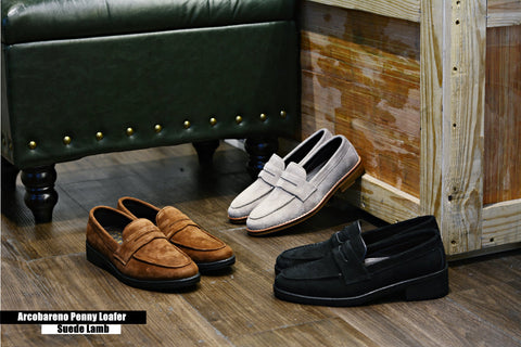 509 Penny Loafer X Suede Lamp Black