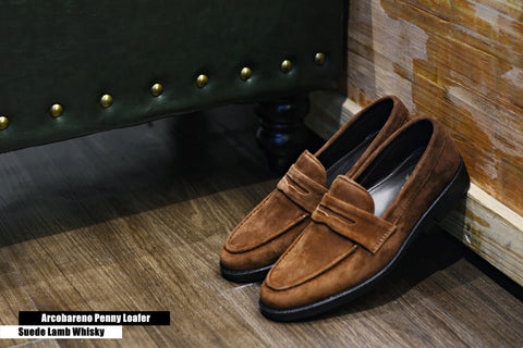 509 Penny Loafer X Suede Lamp Whisky