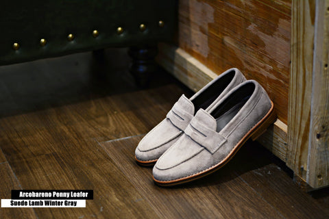 509 Penny Loafer X Suede Lamp Winter Gray