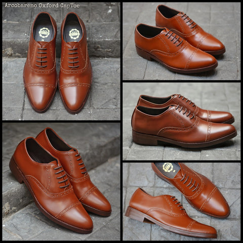 507-1 Brogue Shoe Tan