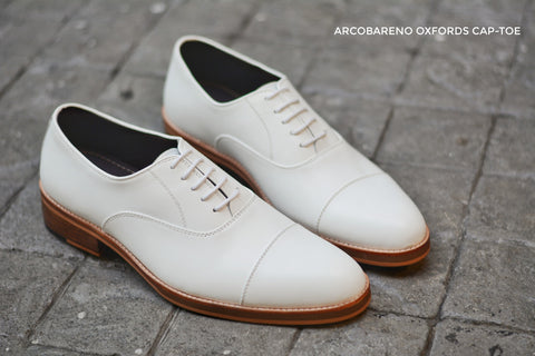 502-1 Oxford White x Wooden Soles