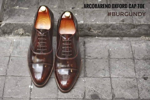 502-1 Oxford Burgundy x WoodenSoles