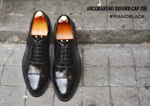 502-1 Oxford Piano Black Black Soles