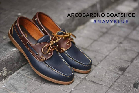 825 Boat Shoe - Navy Blue
