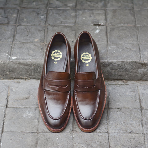 509 Penny Loafer Painted Mocha