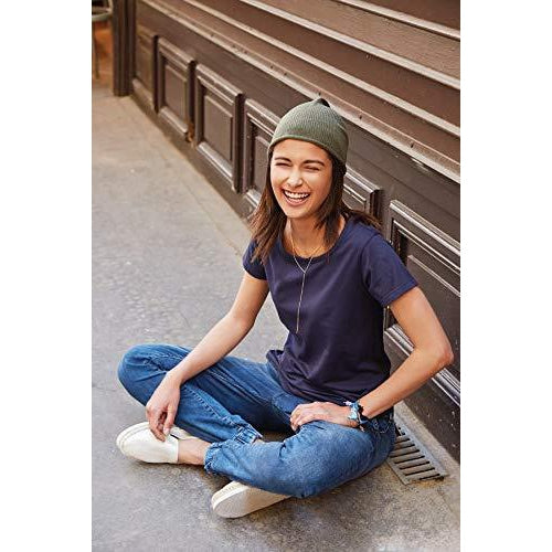 Damen T-Shirt klassisch Basic - türkis Mint