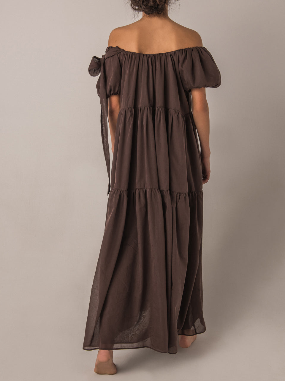 Joanne Balloon Maxi Dress