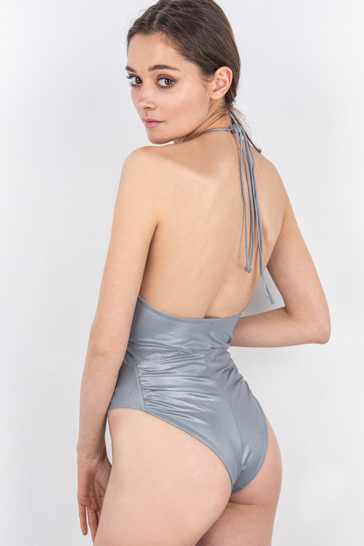 Spaghetti Straps One-Piece