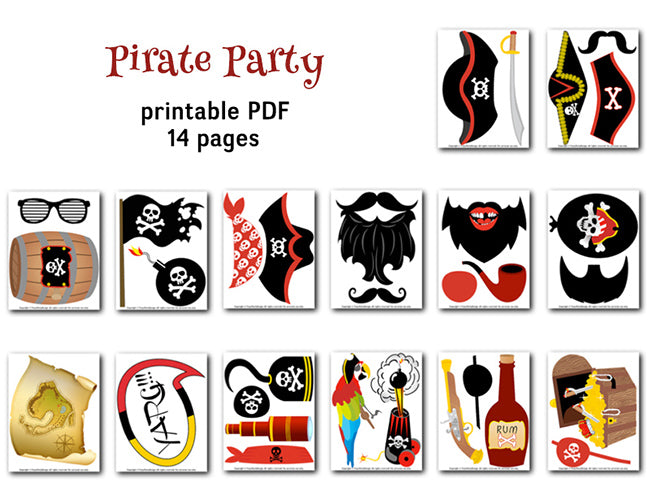 picture relating to Pirates Printable Schedule identify Pirate Image Booth Props, Printable Pirate Get together Photograph Booth Props, 0020