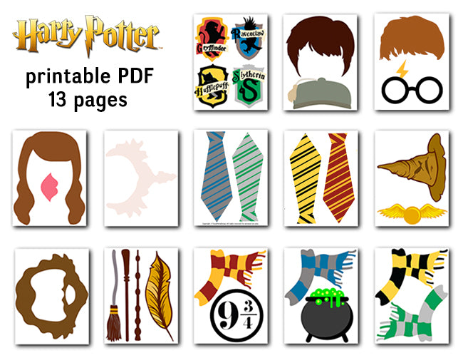 photo regarding Free Photo Booth Props Printable Pdf named Harry Potter Picture Booth Props, Printable Harry Potter PhotoBooth Props, 0142
