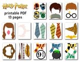 Harry Potter Photo Booth Props, Printable Harry Potter PhotoBooth Props, 0142