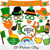 Printable St.Patrick's Day Photo Booth Props, 0207