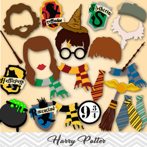 photograph relating to Harry Potter Printable Props named Printable Harry Potter Image Booth Props Tracy Electronic Style