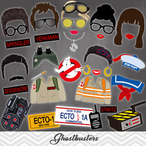 Ghostbusters Party Photo Booth Props, 0066