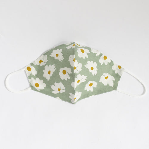 Cotton Face Mask In Floral Print (Non-Medical)