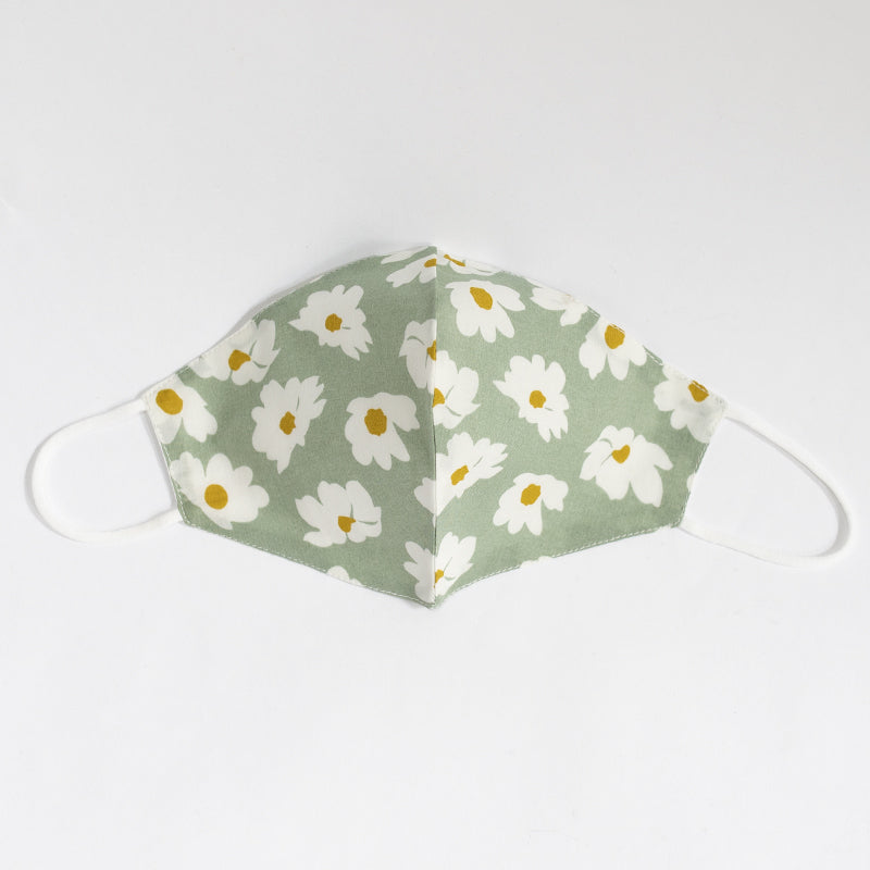 Cotton Face Cover Floral Print