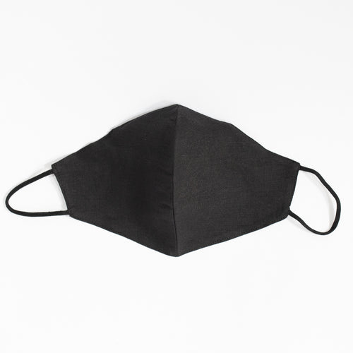 Cotton Face Mask In Black
