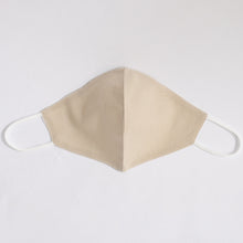 Load image into Gallery viewer, Cotton Face Mask In Natural Beige