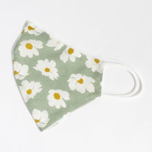 Load image into Gallery viewer, Cotton Face Cover Floral Print