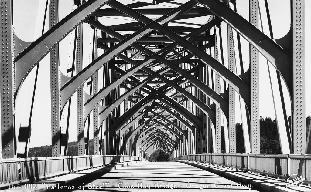 The Conde B. McCullough Memorial Bridge. -- COOS HISTORY MUSEUM & MARITIME COLLECTION / 003-6.3 A
