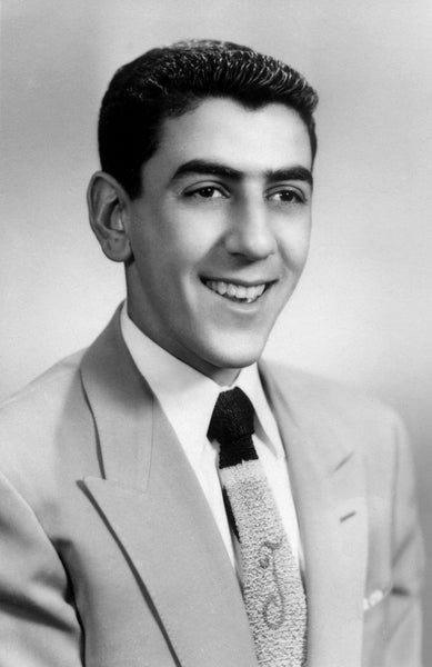 Peter Torigian in his 1953 Peabody High School senior picture. Torigian went on to be a longtime celebrated public servant, and was one of Peabody's most beloved mayors. -- Courtesy The Salem News