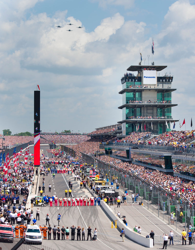 Opening ceremonies prior the start of the 100th running of the Indianapolis 500, Sunday, May 29, 2016. --Doug McSchooler/for IndyStar