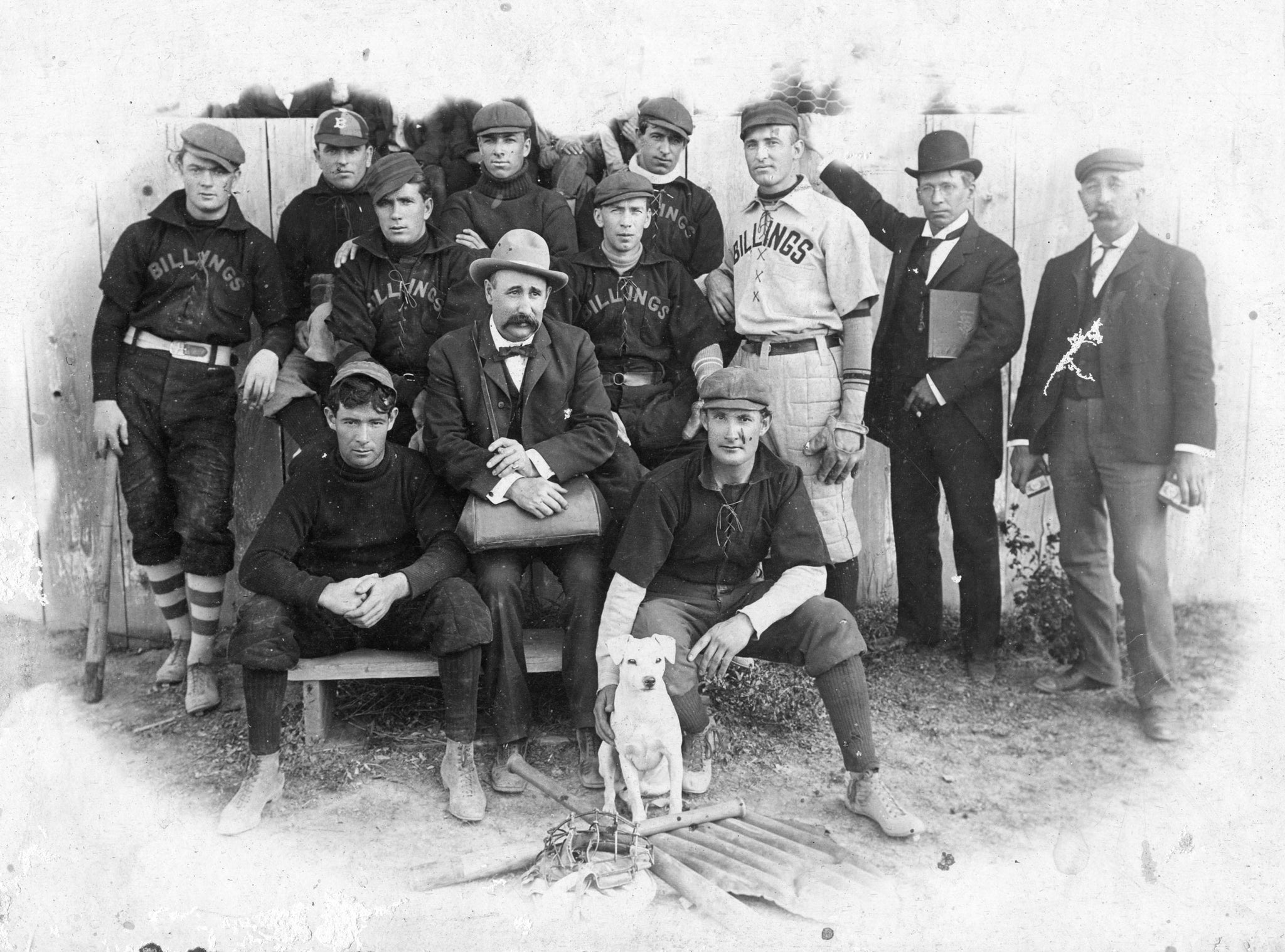 Billings baseball team, circa 1900. -- Courtesy Western Heritage Center