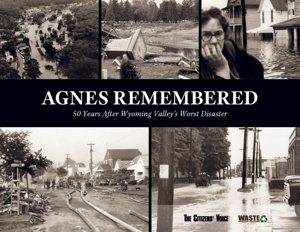 The cover includes several striking images of the storm aftermath and cleanup, more info below.