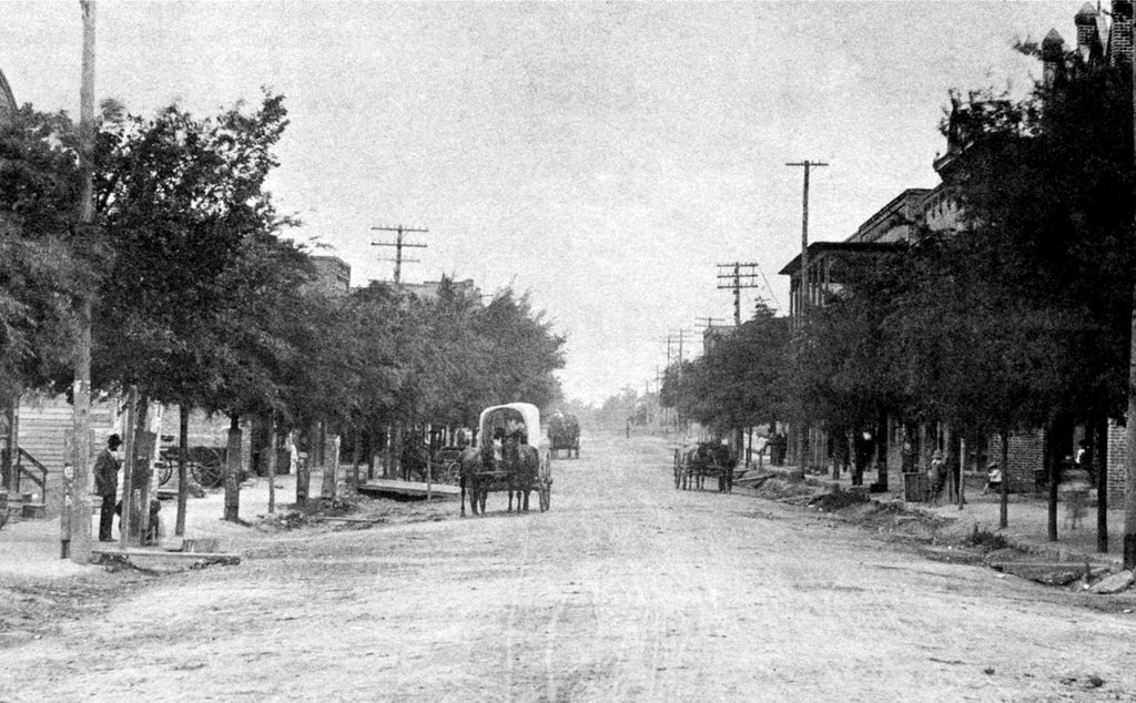 A Look Back at Early Traffic on Gastonia's Main Street