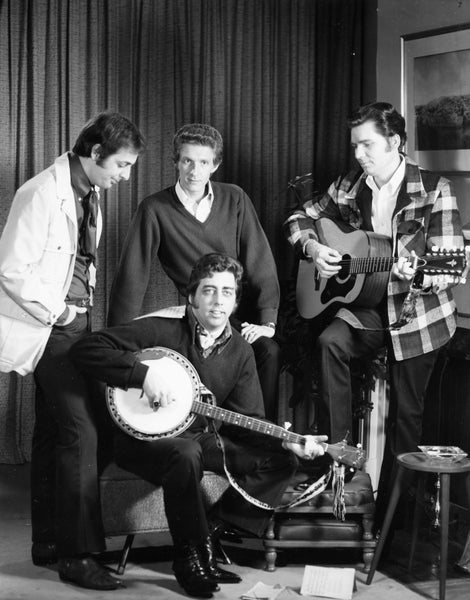 The Statler Brothers country gospel group, 1969. Founded in 1955, the members were natives of the Sheandoah Valley and make their home in Staunton and Augusta County. The group has won 3 Grammys, are in the County Music Hall of Fame and the Gospel Music Hall of Fame. -- Augusta County Historical Society