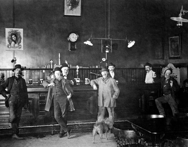 The Solano Brewery, Marin Street, late 1800s. -- Courtesy of Vallejo Naval and Historical Museum