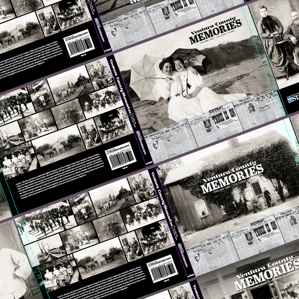 A few cover options for Ventura County Memories