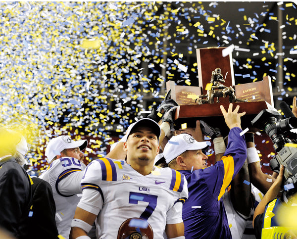 Perfect: LSU's Undefeated Drive to the National Championship