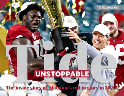 Tide Unstoppable: The Inside Story of Alabama's Roll to Glory in 2020