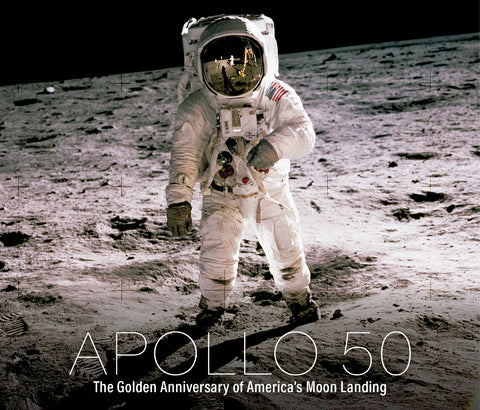 Apollo 50: The Golden Anniversary of America's Moon Landing Cover